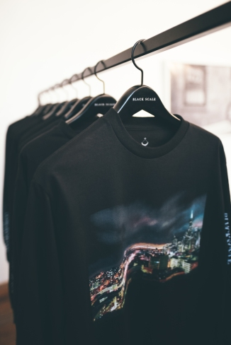 Black Scale x Omeez Collab Long Sleeve - July 2017 - Black Scale, SF