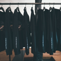 Black Scale x Omeez Long Sleeve at 'Not For Sale' Art Showcase - July 2017 - Black Scale, SF
